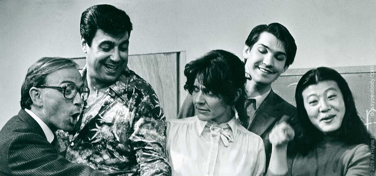 David Allen George, Jay Ginsberg, Dossy Peabody in Israel Horovitz 'The Primary English Class' Gloucester Stage Company
