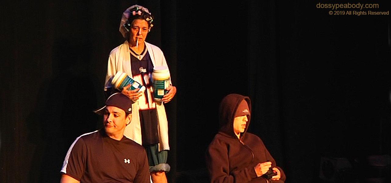 Georgia Lyman Charlie Peabody 'Half Wits' at the Boston Playwright's Theatre Larry Blamire